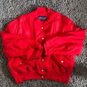 Vintage Karen Kane Silk Jacket